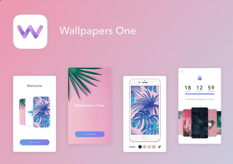 Экраны приложения Wallpapers